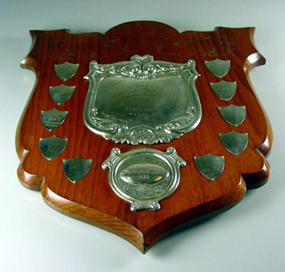 Trophy, The Hartley Shield - won by Melbourne Football Club 2nd XVIII