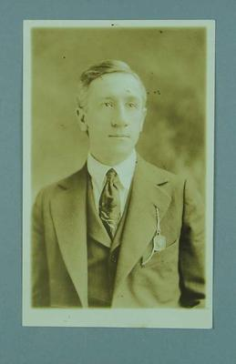 Photograph of John Taylor, Manager of the US Olympic Games swimming team