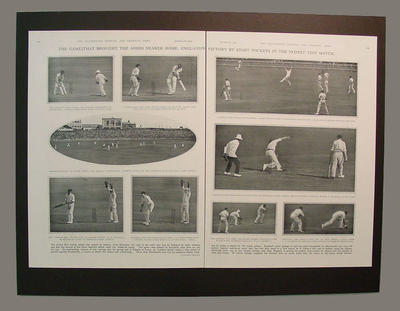 The Illustrated Sporting & Dramatic News, pp.186-187, 26 January 1929; Documents and books; M6915.1