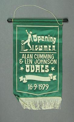Pennant: Opening I & WMCA Alan Cumming & Len Johnson Ovals, 6/9/1979