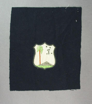 Cloth badge - West Indian cricket team badge; Clothing or accessories; M6968