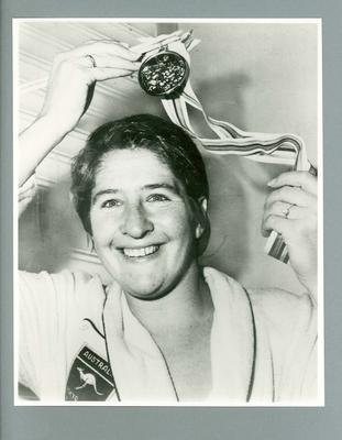 Photograph of Dawn Fraser, c1960s; Photography; 1987.1812.2