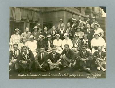Photograph of Victorian Amateur Swimming Association, Sydney 1934