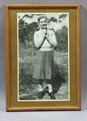 Photograph of Lola Scott, c1920s