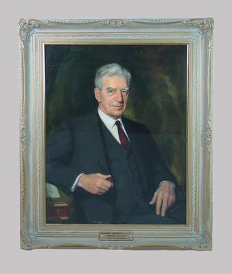 Portrait of A. E. Chadwick by Paul Fitzgerald, c. 1967