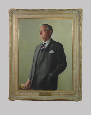 Portrait of Sir Bernard Callinan by Bryan Westwood, c. 1985