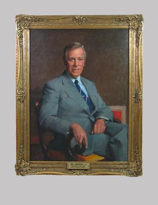 Portrait of Ian Johnson by William Dargie c1979
