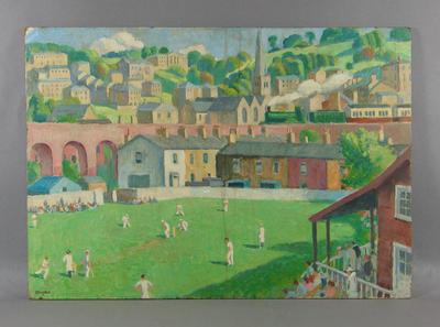 """""""Cricket at Bath"""" - artist  Allenson"""