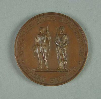 Bronze medal awarded to W Williams, Palma Rifle Shooting Trophy 1903