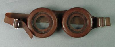 Swimming goggles, c1940