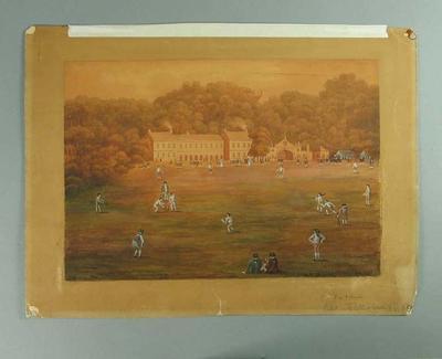 """Lord Sackville's Team v All England""  1746"
