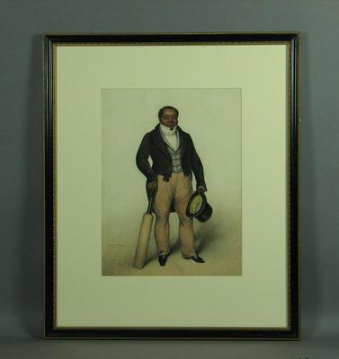 """""""Charles Boyd"""" - portrait, artist A.K. Burt, R.A. 1835"""