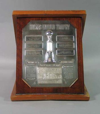 Helms World Trophy, awarded to Frank Sedgman in 1951
