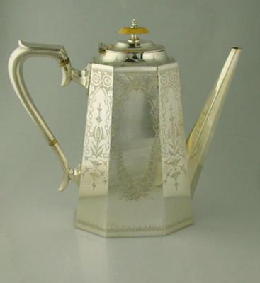 Coffee pot - The Boyle & Scott Cup - 1894-95 won by Hawksburn C C Juniors