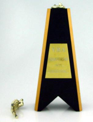 Trophy won by Melbourne Cricket Club Baseball Section, Victorian Baseball Association Championship 1971