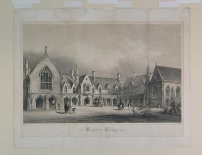 """""""Brighton College"""", published by George Bell, 186 Fleet Street, London"""