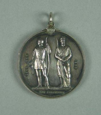 Medal awarded to W Williams, National Rifle Association 1911