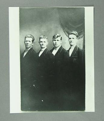 Photograph of Australian Cycling Team, 1928