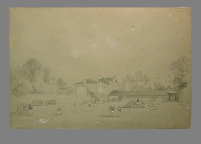 """""""Royal Naval School"""" , artist W. Radclyffe"""