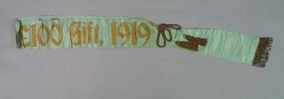 Sash, Echuca Gift 1919; Trophies and awards; 1987.1854.1