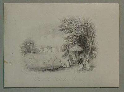 'Felix Hall, Kelvedon, Essex , by Rock & Co, London, No. 525; Artwork; M6455