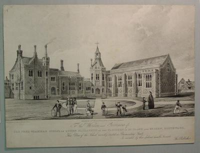 'The Free Grammar School of Queen Elizabeth of the Parishes of St. Olave and St. John, Southwark', 1835