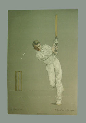 Chromolithograph of James Iremonger, artist A. Chevallier Tayler, 1905; Artwork; M6280.1