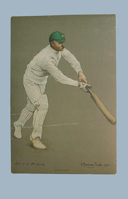 Chromolithograph of C. E. McLeod, artist A. Chevallier Tayler, 1905; Artwork; M6284