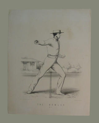 """The Bowler , No. 7"", by John C. Anderson  c.1860"