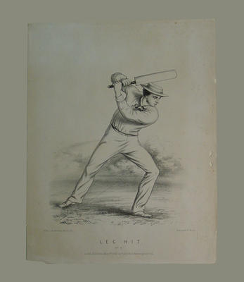 """""""Leg Hit , No. 4"""", by John C. Anderson published by F. Lillywhite1860"""