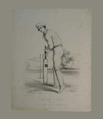 """""""Back Play , No. 6"""", by John C. Anderson published by F. Lilliwhite1860"""