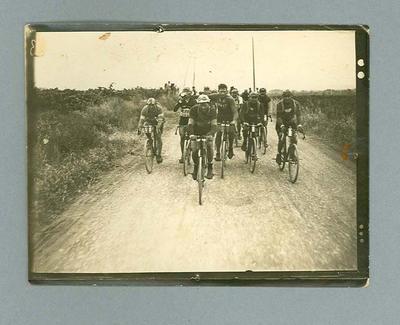 Photograph of competitors during 1928 Tour de France