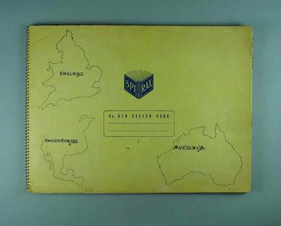 Scrap book, contains clippings related to 1953-54 Davis Cup & 1953-54 MCC Cricket Tour