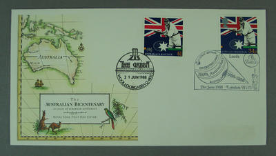 First Day Cover - Australian Bicentenary - 1 June 1988