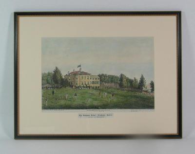 """""""The Grammer School, Aldeburgh, Suffolk"""" 1864"""