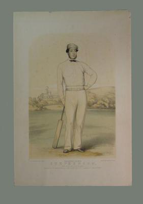 """English cricketer -  """"Heathfield Harmon Stephenson"""""""