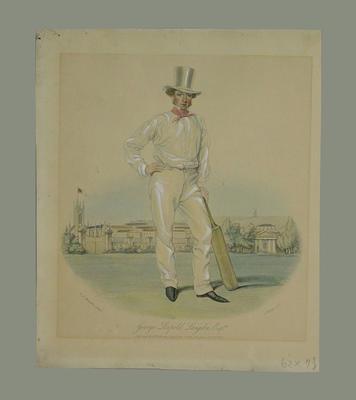 "Print, ""George Leopard Langdon Esq."" - 1841"