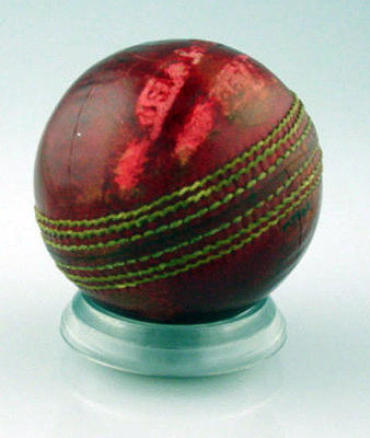 Cricket ball, Australia v India 1967-68