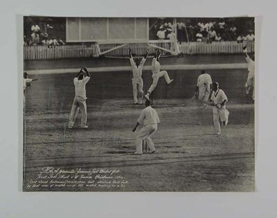 "Photograph, ""Famous Last Ball""; Photography; M5982"