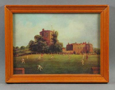 "Print, ""Australian Cricketers at Chilham Castle, Kent, August 1878"""