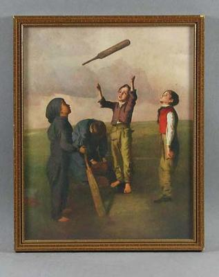 "Print, ""Tossing for Innings"""