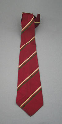 West Indian Test team tie; Clothing or accessories; M5724