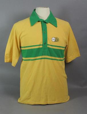 Shirt, 1985 World Championship of Cricket - Australia