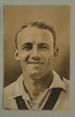 1936-37 Amalgamated Press (Triumph) Test Match Favourites D G Bradman postcard