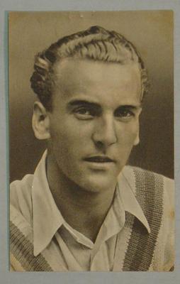 1936-37 Amalgamated Press (Champion) Stars of the Test Matches J Hardstaff postcard