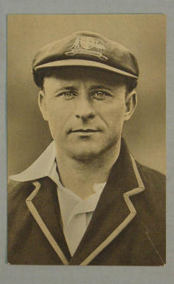 1936-37 Amalgamated Press (Champion) Stars of the Test Matches W Oldfield postcard
