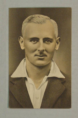 1936-37 Amalgamated Press (Champion) Stars of the Test Matches H Verity postcard