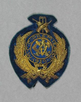 Bullion badge won by Melbourne Cricket Club, VCA Premiers 1929-30