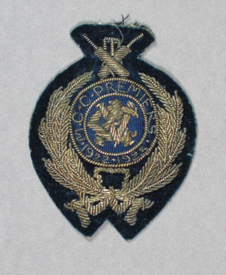 Bullion badge won by Melbourne Cricket Club, VCA Premiers 1922-23