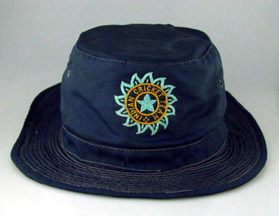 Indian cricket hat, worn by Sunil Gavaskar